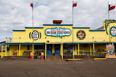 Big Texan Steak Ranch. AMARILLO, TEXAS - 17 JANUARY: The Big Texan Steak Ranch is a famous roadside restaurant, attraction, and landmark in Amarillo. Originally Stock Image