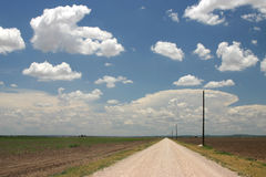 Big Texas sky Royalty Free Stock Photo