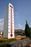 Big thermometer Royalty Free Stock Image