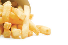 Big Thick Cut French Fries Royalty Free Stock Image