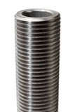 Big threaded bolt close-up Stock Images