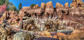Big Thunder Mountain Railroad Royalty Free Stock Images