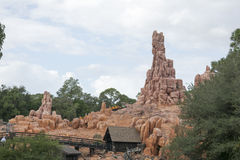 Big Thunder Mountain ride - Magic Kingdom Royalty Free Stock Photos