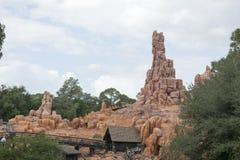Big Thunder Mountain ride - Magic Kingdom Royalty Free Stock Photos