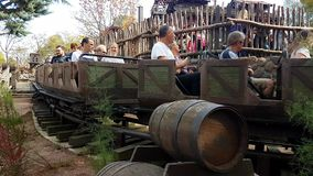 Big Thunder Mountain Roller Coaster In Disneyland Paris