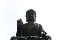 Big Tian Tan Buddha Stock Photo