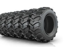 Big tires Stock Images