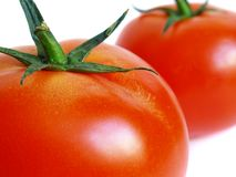 Big tomatoes Royalty Free Stock Photos