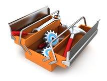 Big toolbox Stock Image