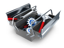 Big toolbox Stock Images