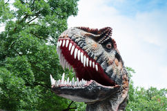 Big toothy Rex dinosaur Stock Photos