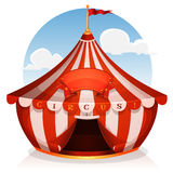 Big Top Circus With Banner Royalty Free Stock Photo