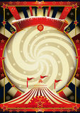 Big top cream christmas circus Stock Photos