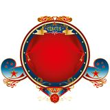 Big top frame circus Royalty Free Stock Images