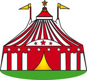 Big top in the grass