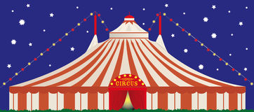 Big top by night Stock Photo