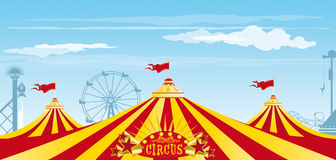 Big Top On The Sky Stock Image