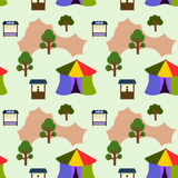 Big top seamless background design Stock Images