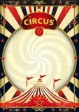 Big top sunbeams circus poster Royalty Free Stock Image