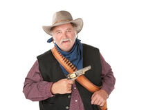 Big tough cowboy Stock Photos