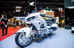 Big Touringbike by HONDA in Thailand motor show. Royalty Free Stock Photos