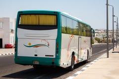 Big tourist bus Royalty Free Stock Photography