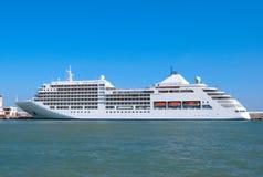 The big tourist liner Stock Photo