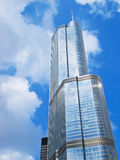 Big Tower in Chicago Stock Image