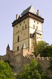 Big Tower - Karlstejn castle Stock Photos