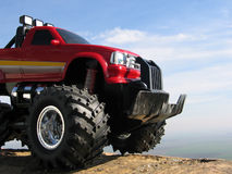 Big toy. Truck toy Stock Photo