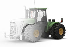 Big Tractor - mix Stock Photography