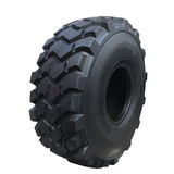 Big tractor tire Stock Photos
