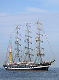 Big traditional sailing ship 02 Stock Photo