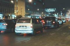 Big traffic jam. Royalty Free Stock Photography