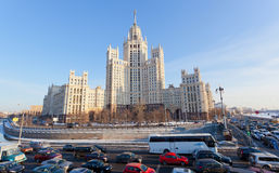 Big transport stopper, Moscow Royalty Free Stock Photos