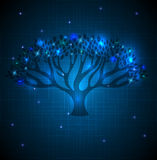 Big tree abstract background Stock Photography