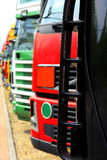 Big truck. On the road royalty free stock photos