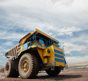 The big truck Stock Photography
