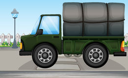 A big truck Royalty Free Stock Image