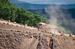 Big truck in quarry Stock Photos