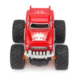 Big truck toy color red isolated on white background.  royalty free stock photos