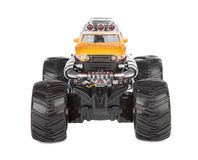 Big truck toy. Front view. Stock Image