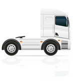 Big truck tractor for transportation cargo vector illustration Stock Photo