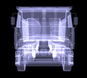 Big truck. X-ray Stock Photos