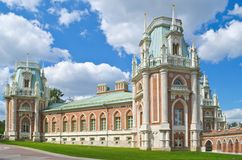 Big Tsaritsyno Palace Royalty Free Stock Photo