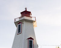 Big Tube Lighthouse on Lake Huron. Big Tube Lighthouse on Lake Huron in Tobermory, Ontario, Canada Stock Photos