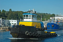 Big Tug Stock Photo