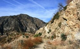 Big Tujunga Canyon. Mountains in Big Tujunga Canyon, Angeles National Forest, California Stock Image