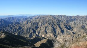 Big Tujunga Canyon Panorama Stock Photos
