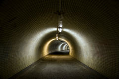 Big tunnel Stock Photography